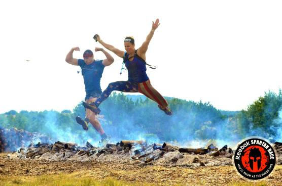 fire leap spartan beast colorful